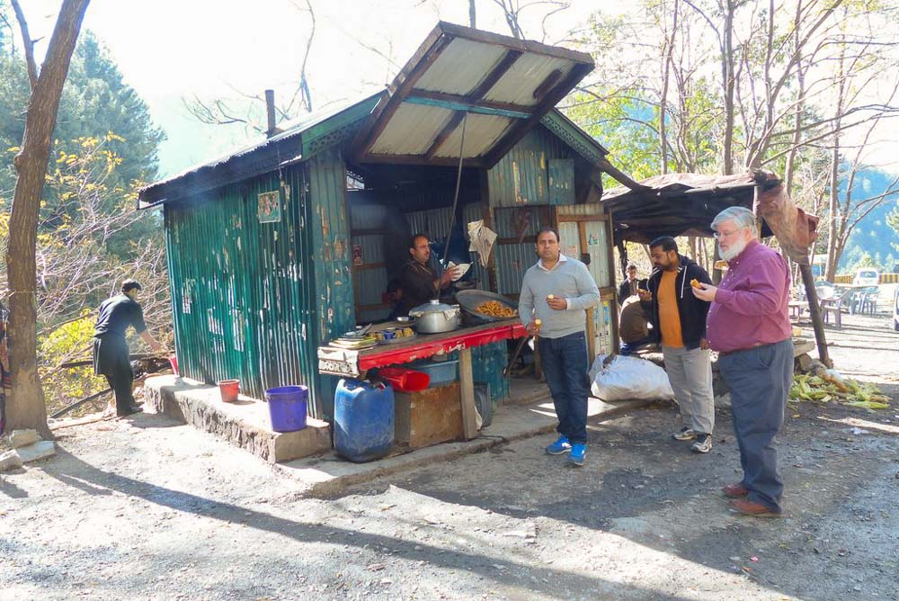 tea and snack stall