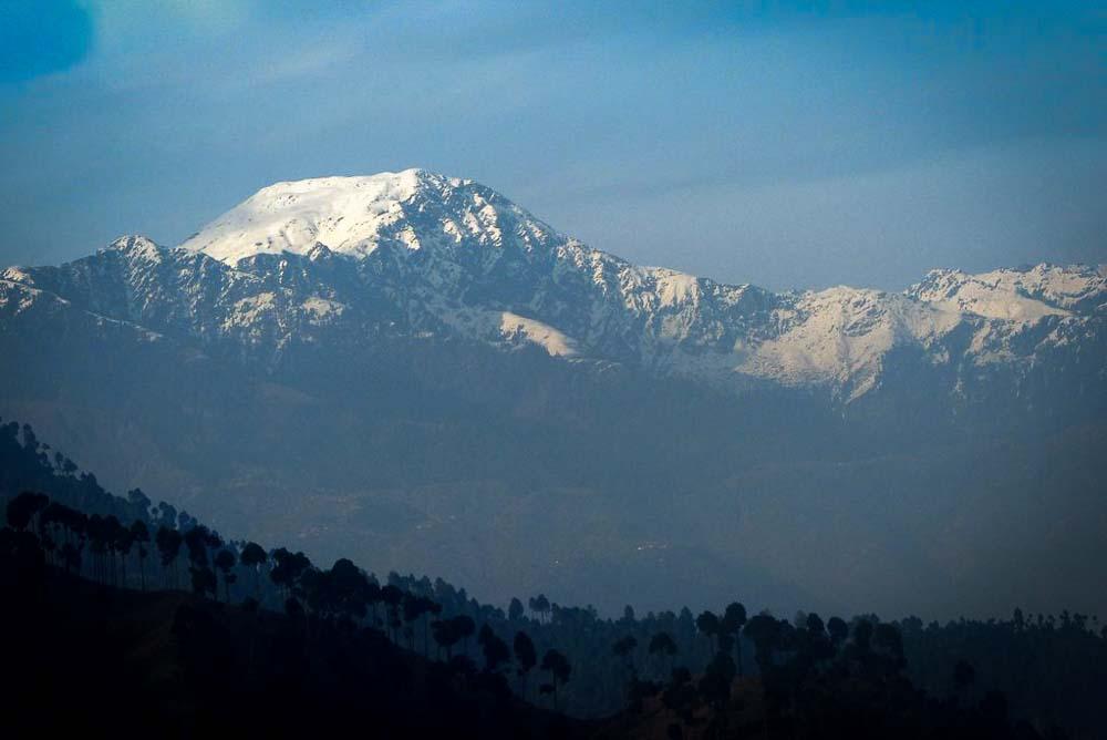 Mountain view along the way to Balakot.