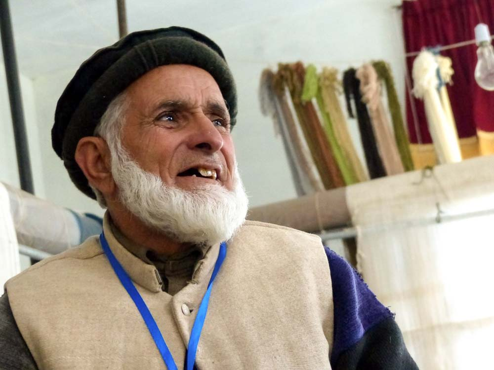 Ghullam Mohammad, head of the family that rescued Ehsan in 1997. He is a local community leader and helps to oversee the Bunyaad activities in Jared.