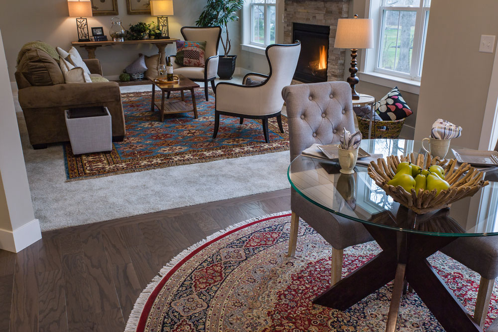Bunyaad rugs at Landmark Homes