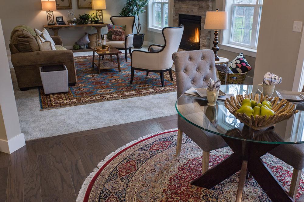 Bunyaad rugs at Landmark Homes