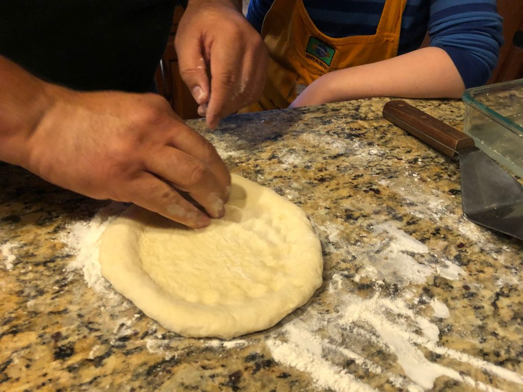 Adding Ridges to the Naan