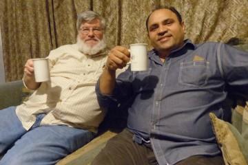 Doug Horst and Yousaf Chaman