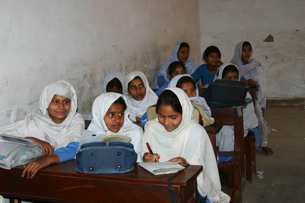 Girl School in the village of Darianwala