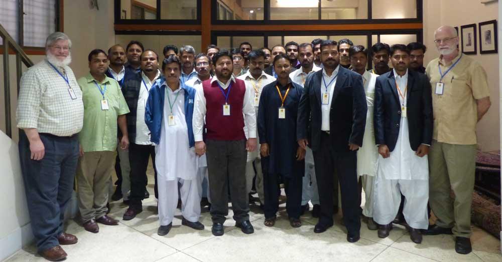 Bunyaad office staff