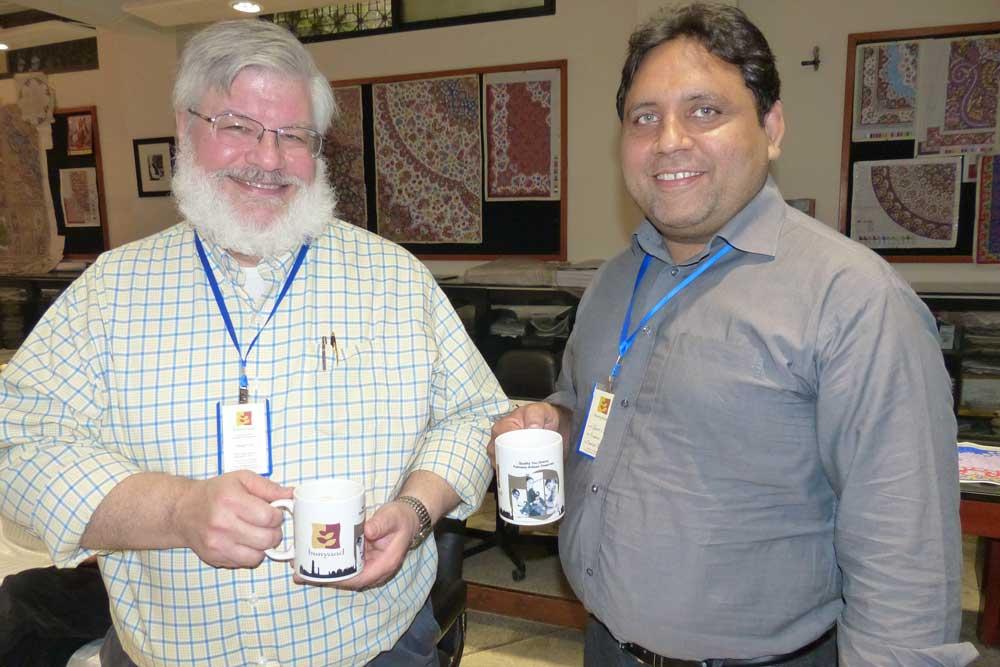 Doug Horst and Qaiser Chaman