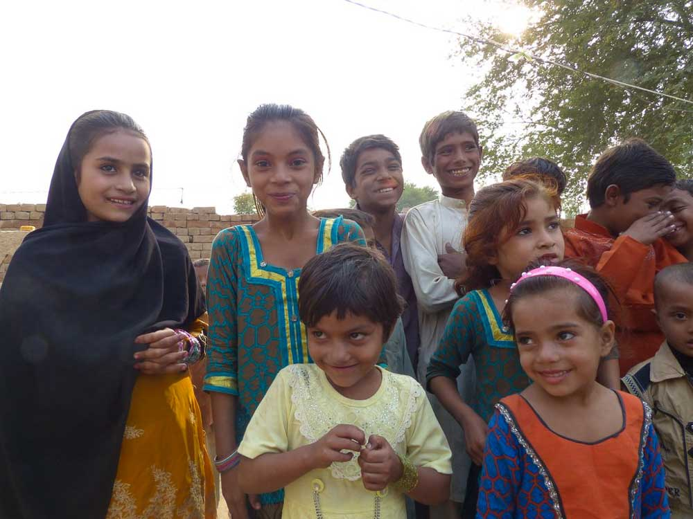 Pakistani children.