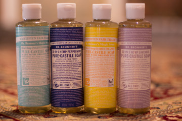 Dr Bronner's fair trade soap