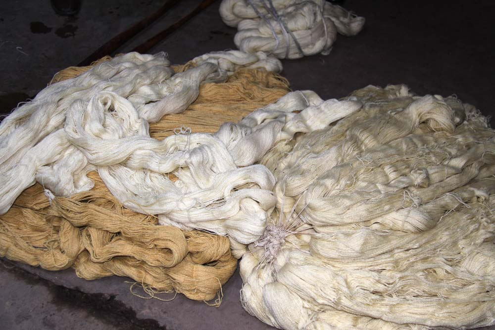 rug production wool
