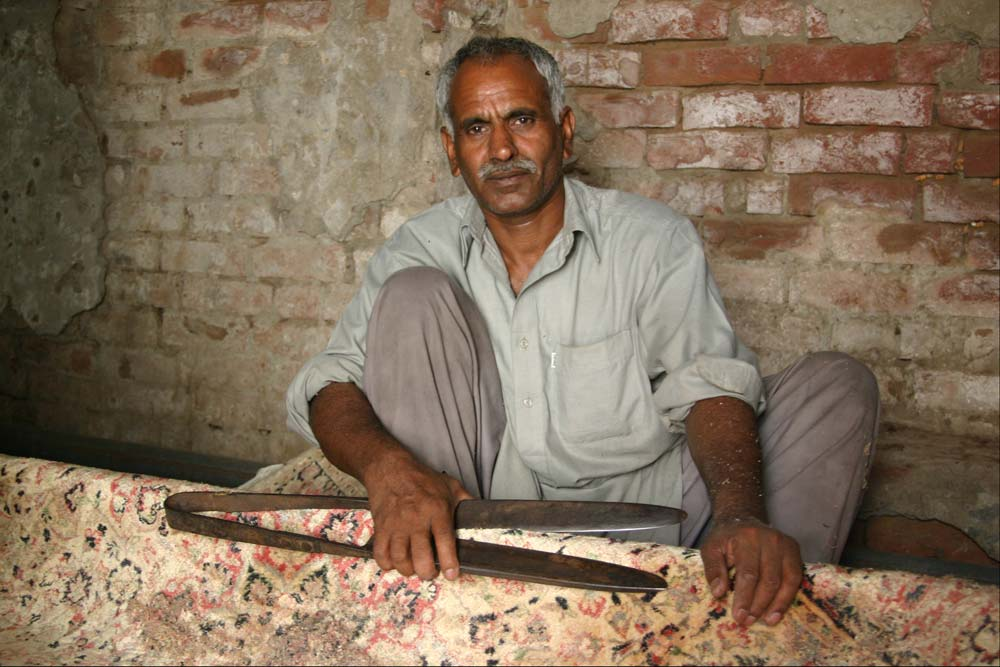 Master Shearer at the Lahore Warehouse.
