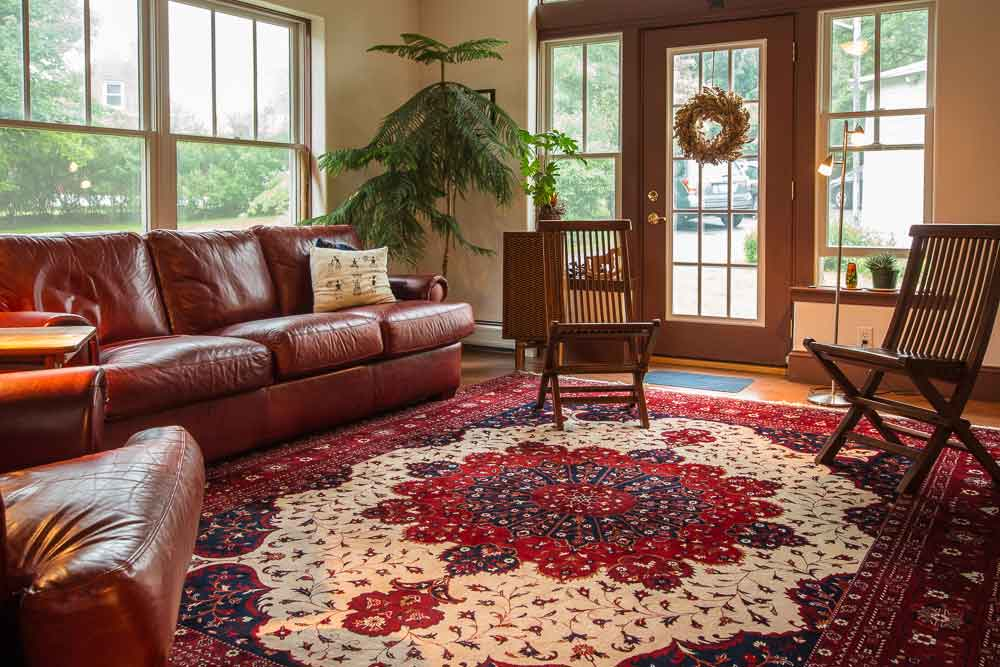 Some Rugs Are Meant To Stop Conversation Others Invite You Step Inside And Join In Whatever Happens Ernie Janes Living Room